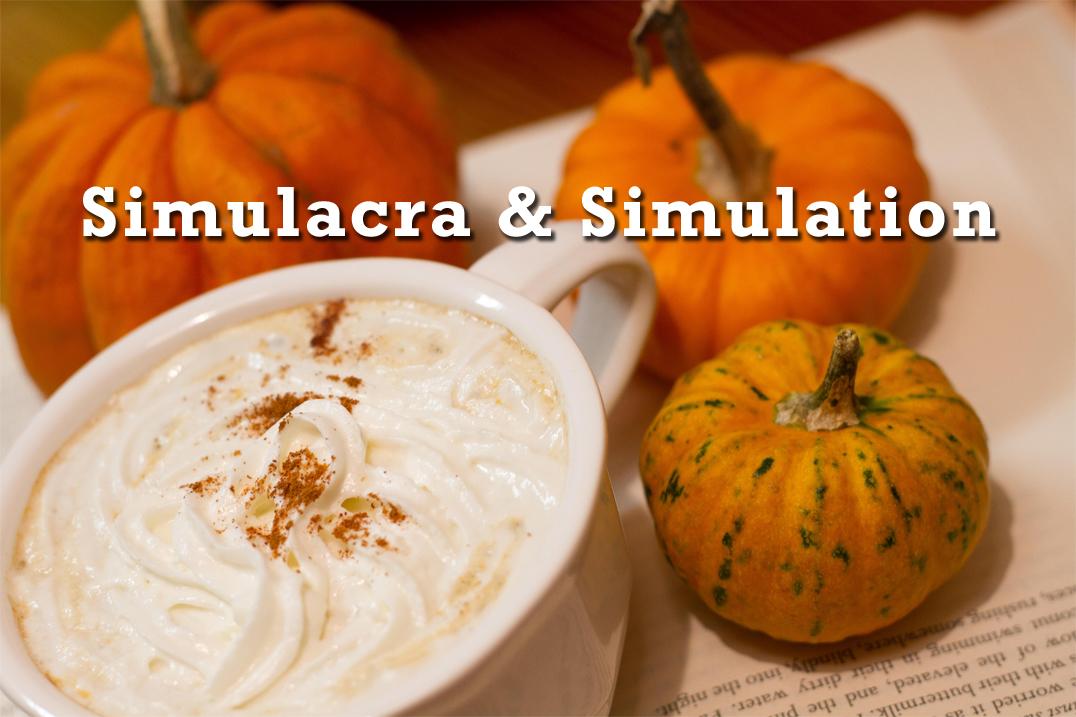 pumpkin spice baudrillard