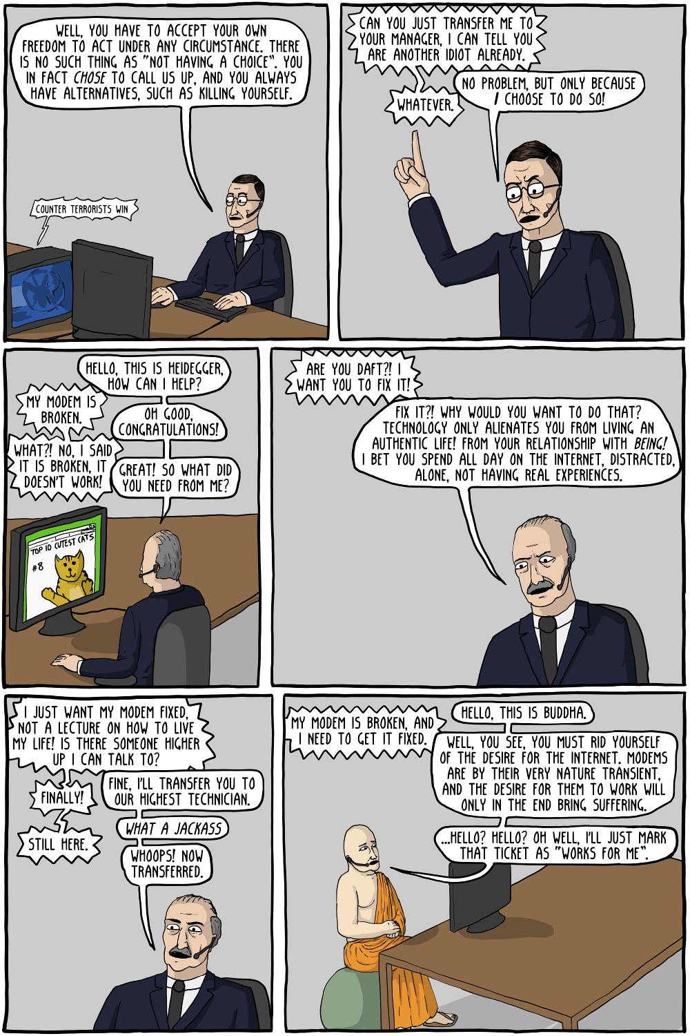 philosophy tech support 2