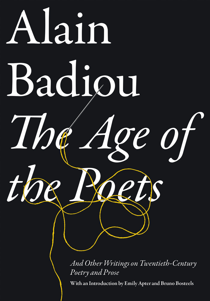 badiou the age of poets