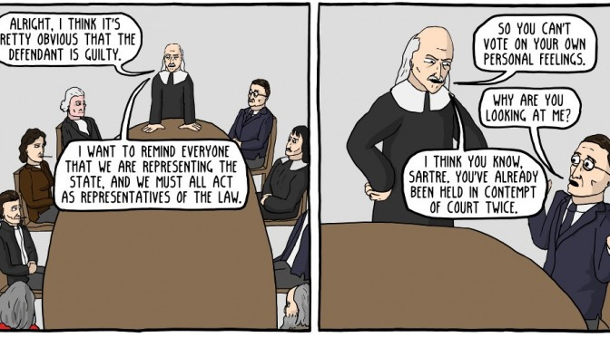 12 Angry Philosophers [Comic]