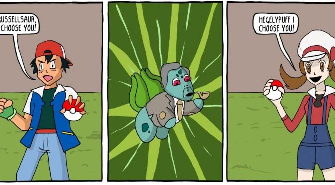 Philosophy Pokemon [Comic]
