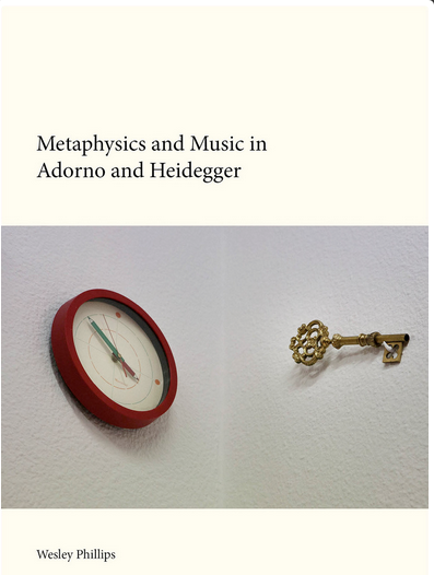 metaphysics and music in adorno and heidegger