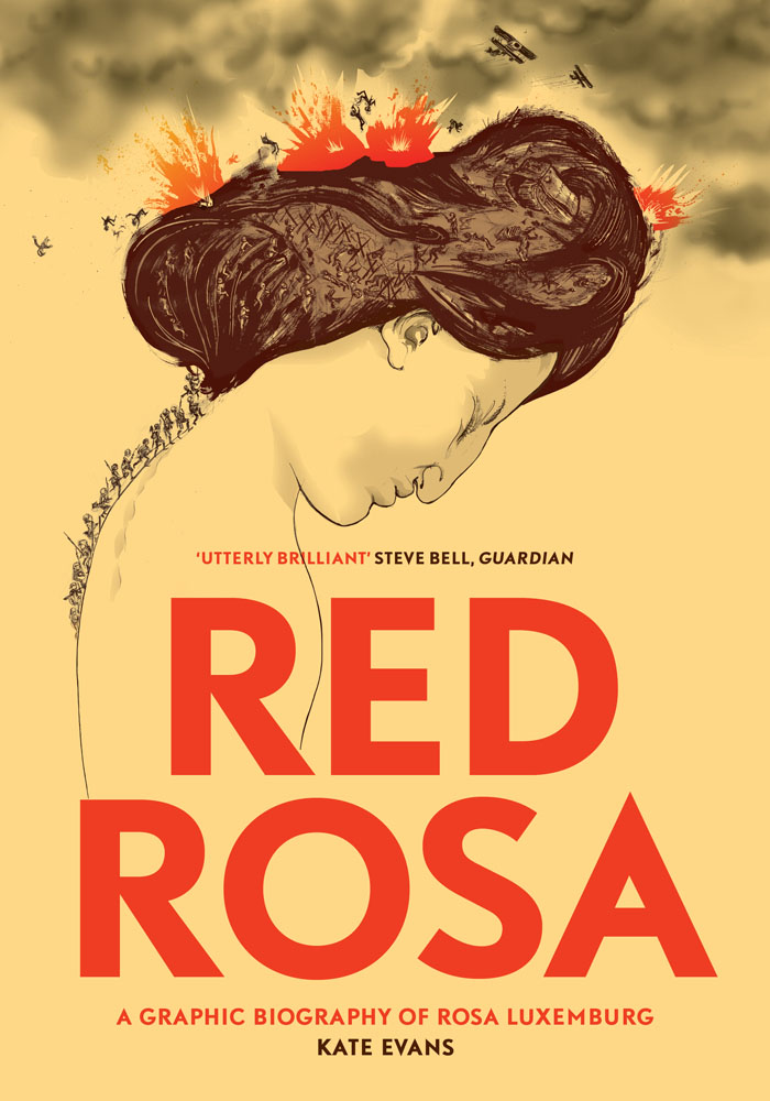 red rosa graphic novel