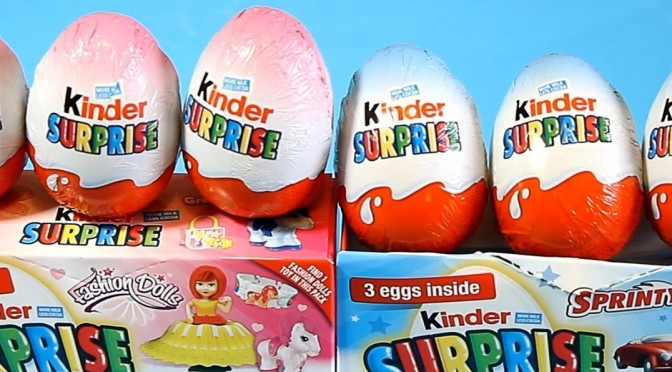 Gendered Kinder Eggs Read by Lacan and Žižek