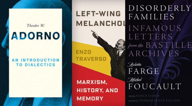 10 Critical Theory Books That Came Out in January, 2017